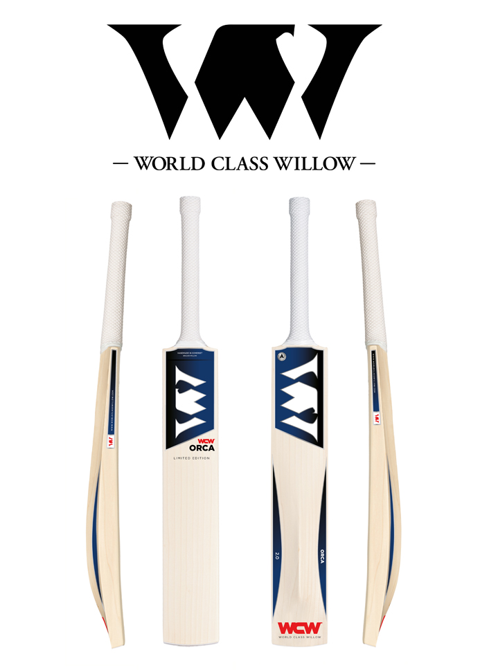World Class Willow cricket bat sticker design